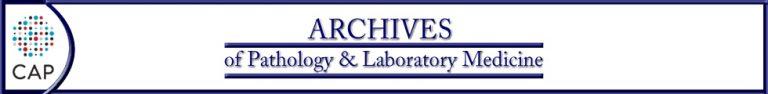 Logo Archives of Pathology