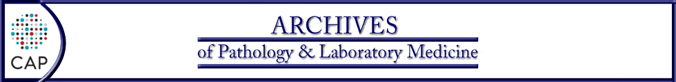 Logo Archives of Pathology